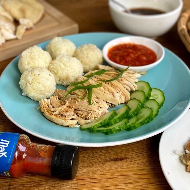 Image of Malaysian Chicken Rice Balls