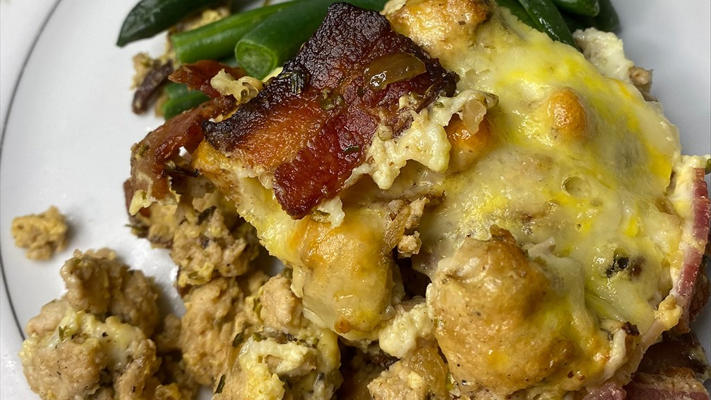 Image of Chicken, Cheese & Bacon Casserole