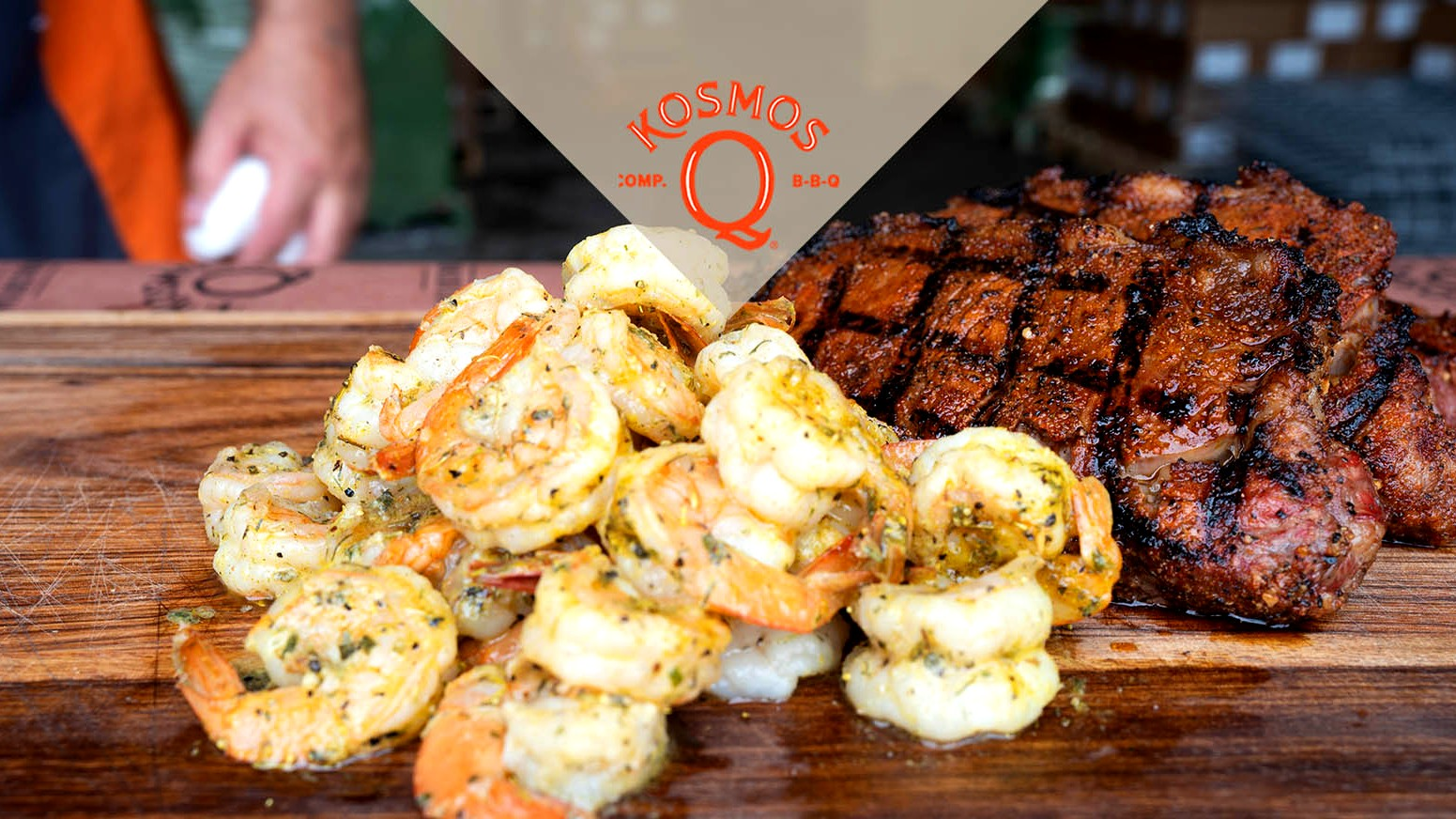 Image of Barbecue Surf And Turf | Shrimp & Steak