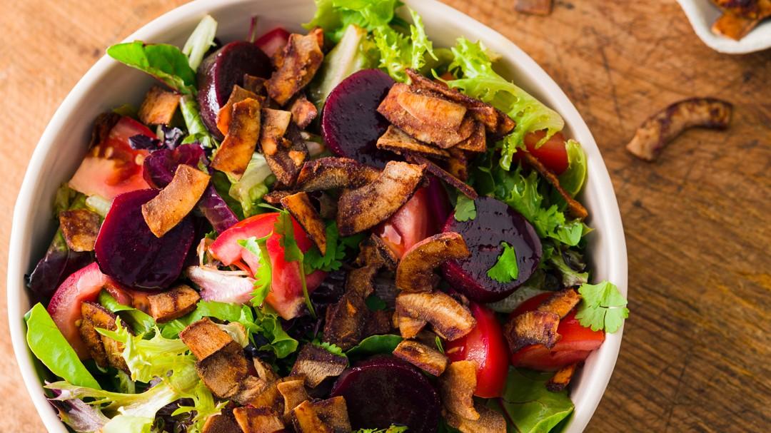 Image of BBQ Coconut Spring Salad