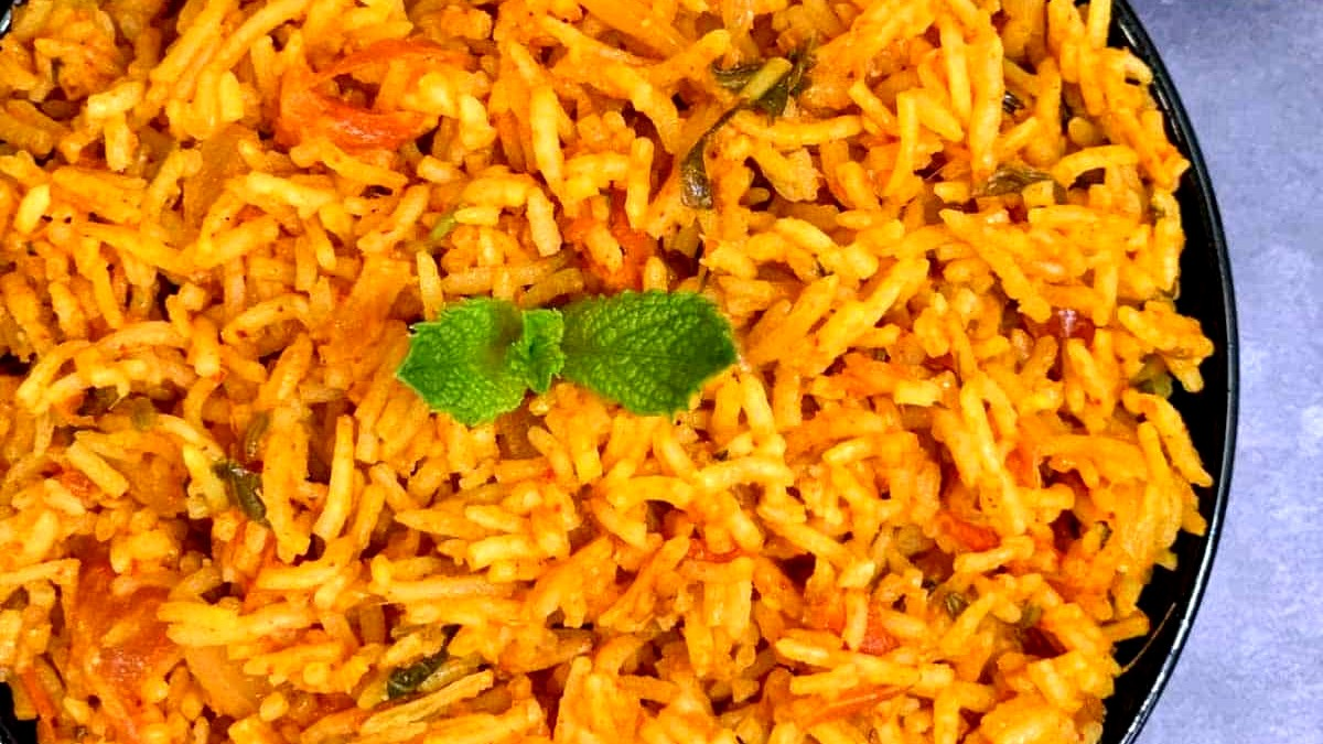 Image of Tomato Biryani Recipe