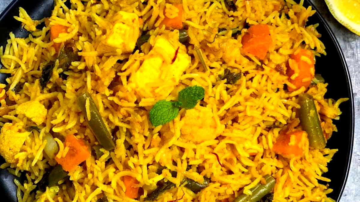 Image of Vegan Biryani | Vegetable Biryani