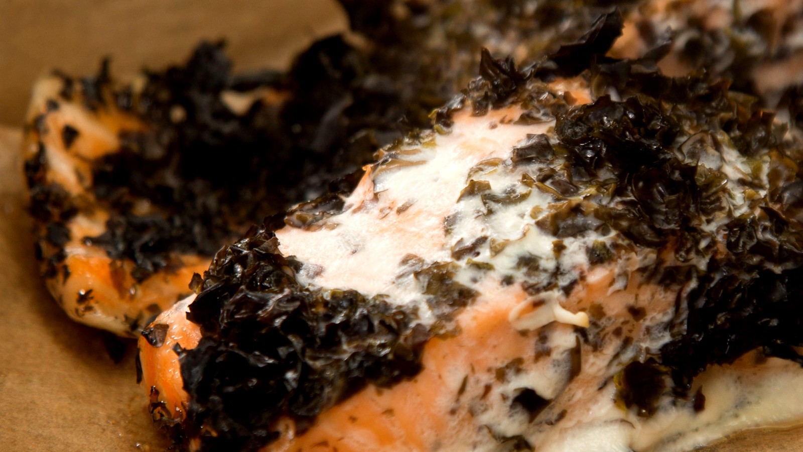 Image of Baked Salmon with Welshman's Caviar