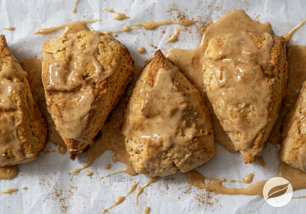 Image of Chai Scones with Maple Coffee Glaze