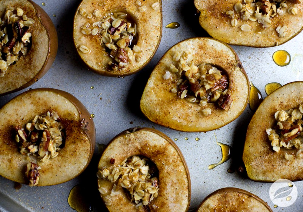 Image of Maple Chai Baked Pears
