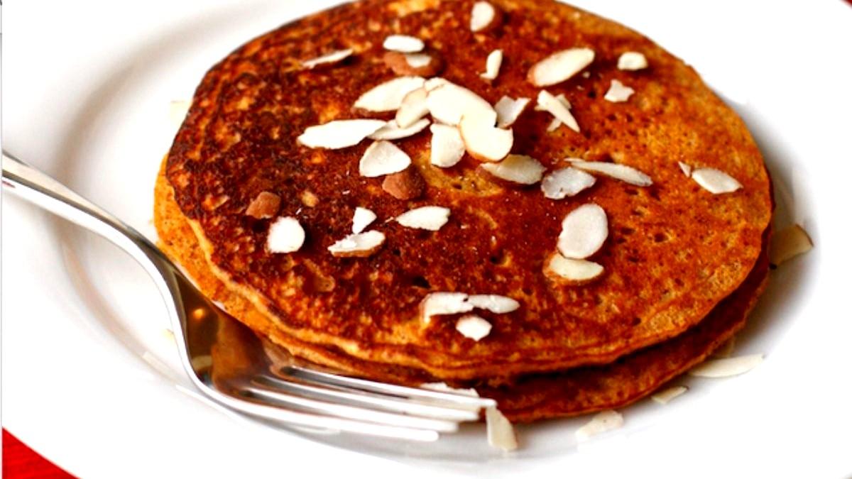 Image of Maple-Cinnamon Sweet Potato Pancakes