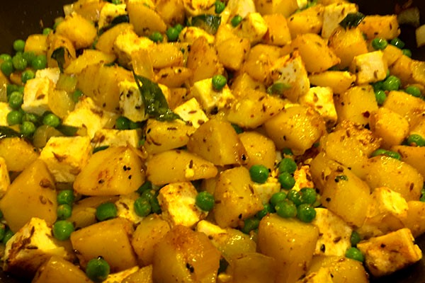 Image of Goan Yellow Potato Bhaji