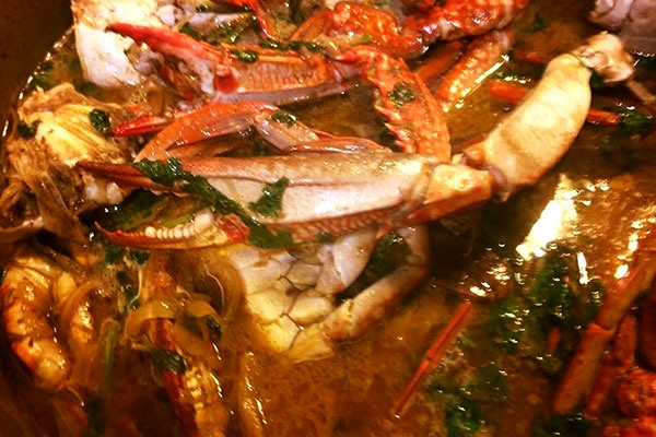 Image of Goan Green Curry of Crab