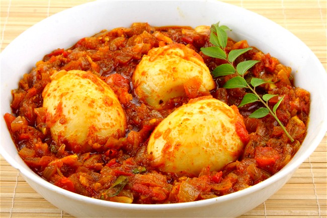 Image of Egg and Red Lentil Curry