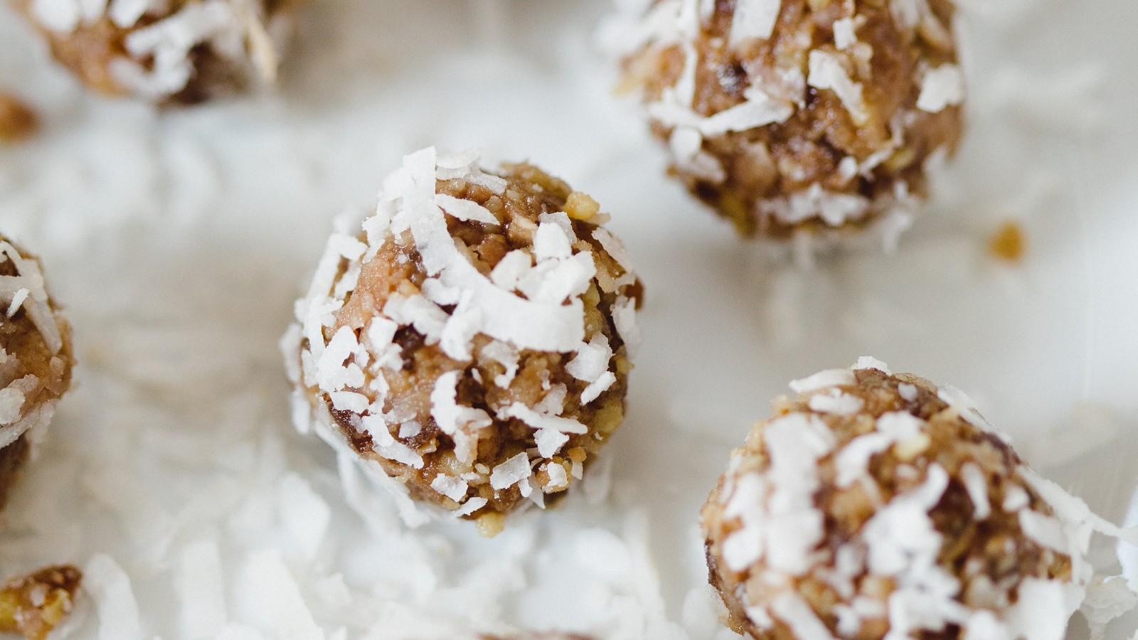 Image of Chocolate Tahini Date Bites