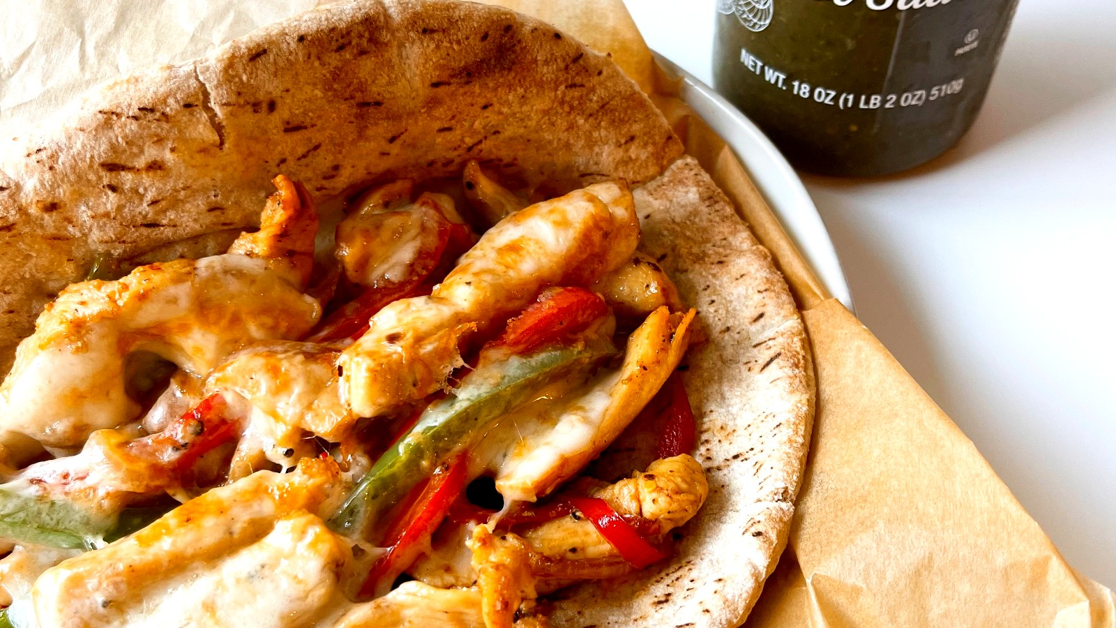 Image of Philly Chicken Pitas