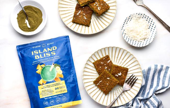 Image of Gluten-Free Coconut Island Bliss Blondies
