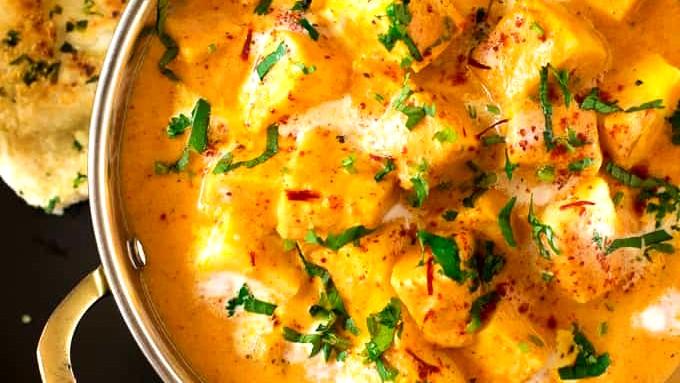 Image of Creamy Shahi Paneer Recipe