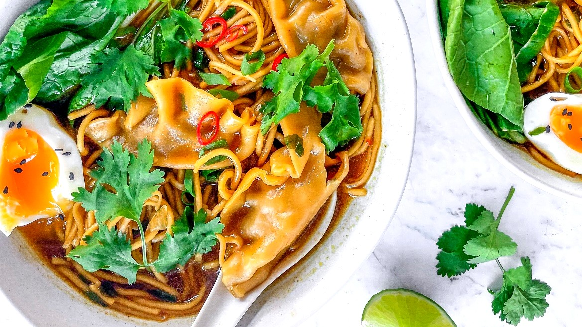 Image of Beef Wonton Noodle Soup