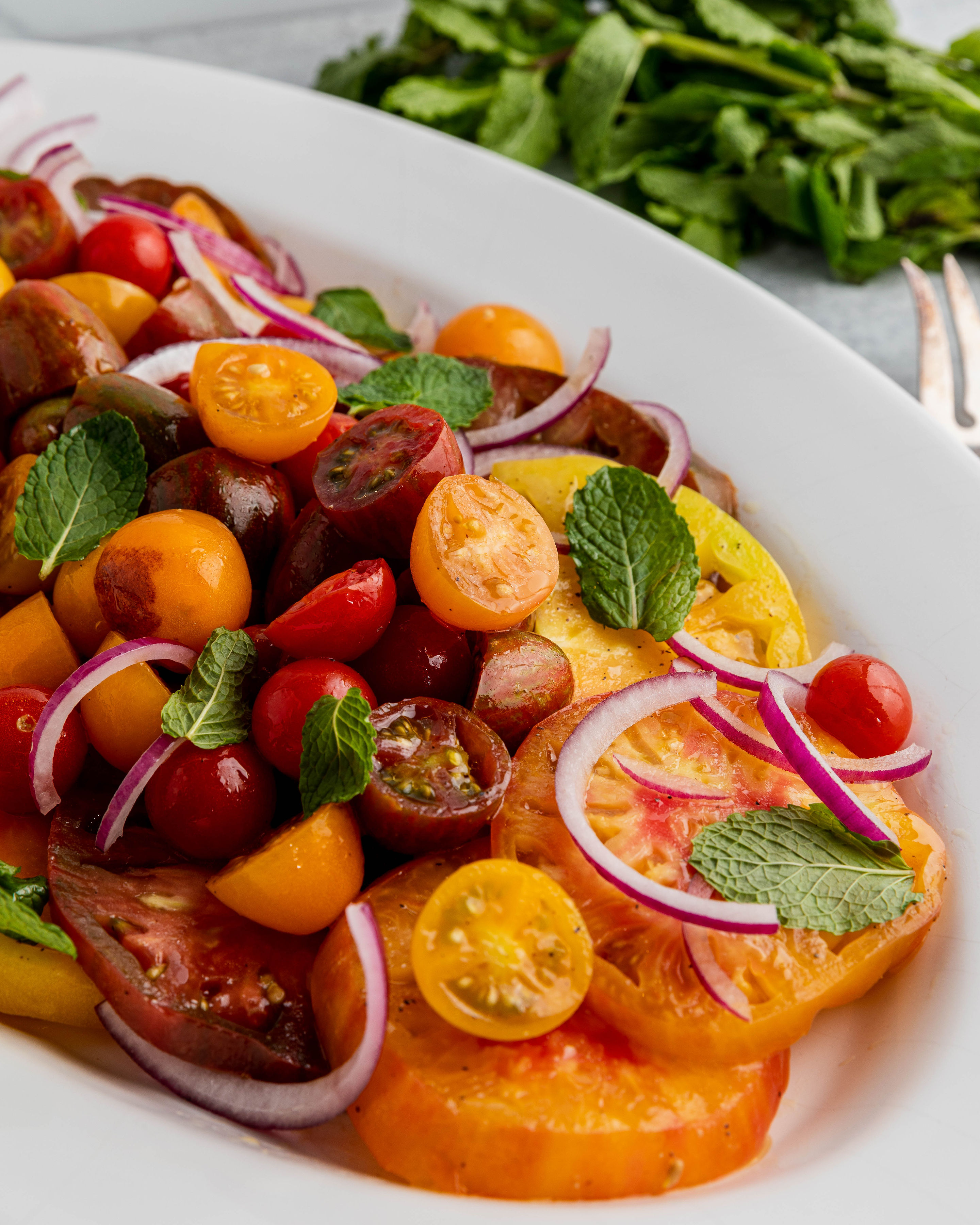 Image of Tomato Mint Salad
