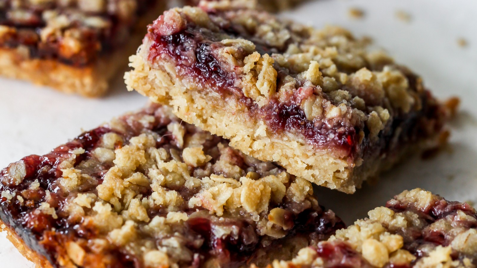 Image of Easy Fruit Oatmeal Squares