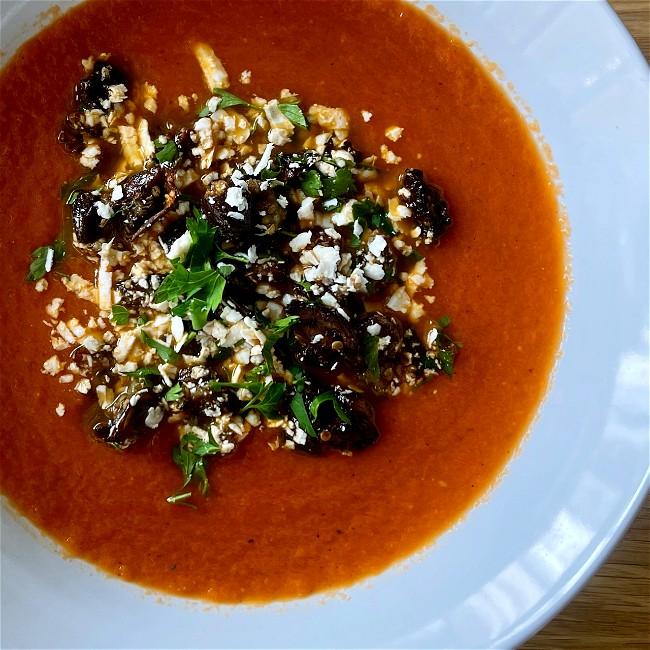 Image of Tomato Soup alla Norma