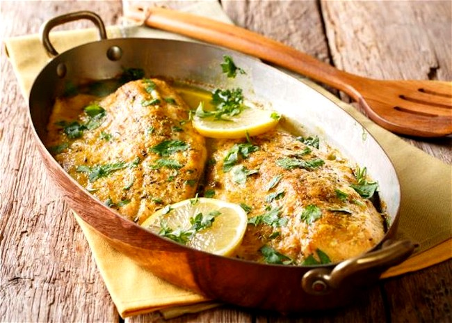 Image of Herb and Garlic Baked Trout