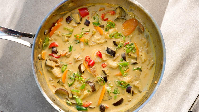 Image of Indo Thai Garnelen Curry