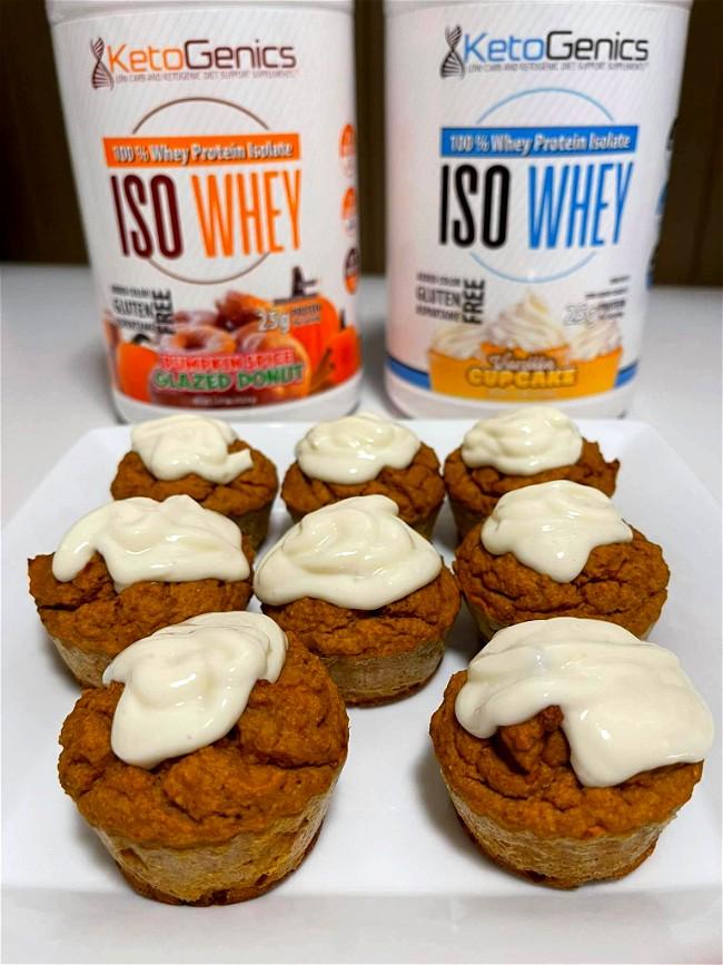 Image of Pumpkin Spice Protein Muffins