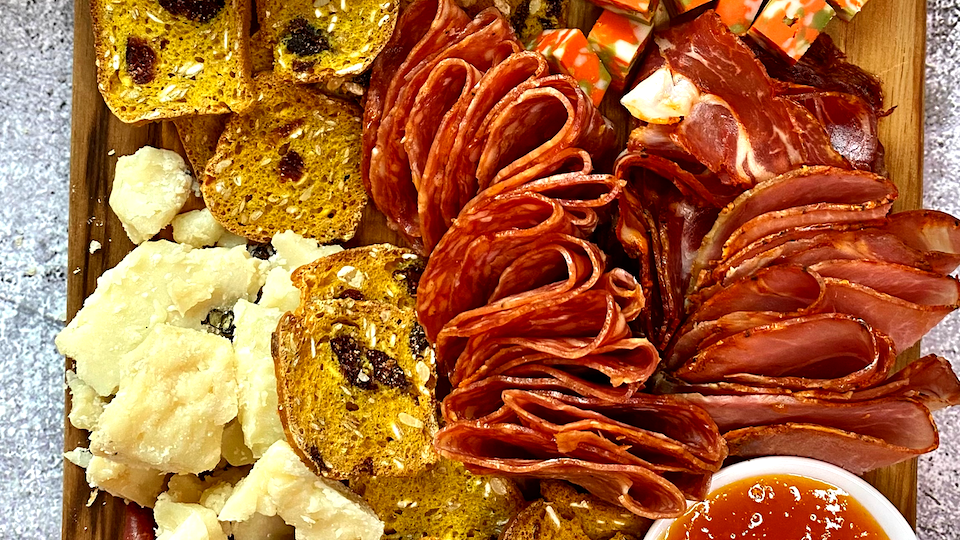 Image of Fall Inspired Spicy Charcuterie Board