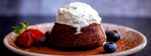 Image of Dark Chocolate Molten Lava Cake