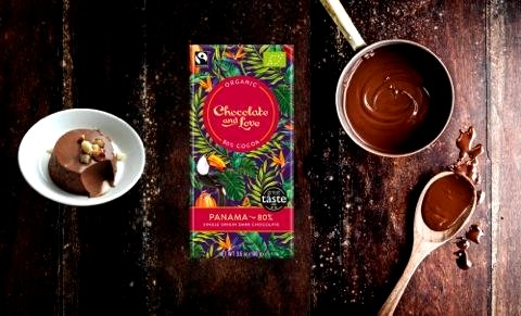Image of Panama Panna Cotta Chocolate Recipe