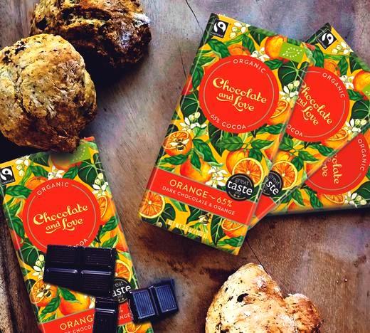Image of Orange Chocolate Soda Bread Scones Recipe
