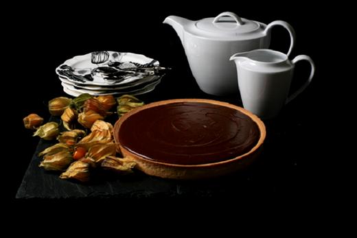 Image of Assunta's Chocolate Salted Caramel Tart Recipe