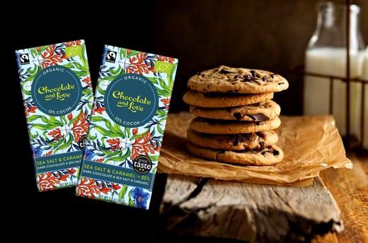 Image of Sea Salt Chocolate Cookies Recipe