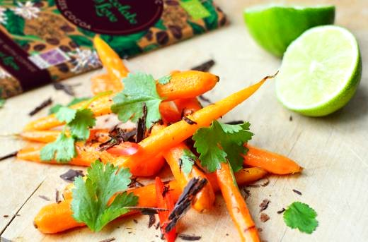Image of Carrot and Coffee Chocolate Salad Recipe
