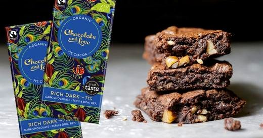Image of Rich Dark Chocolate Brownies Recipe