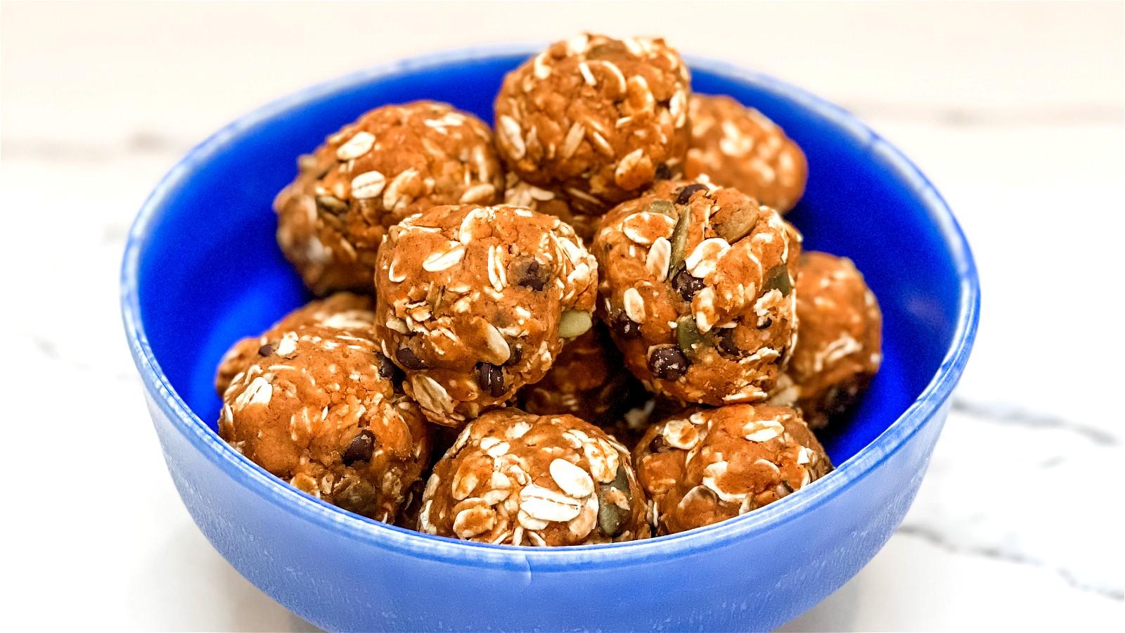 Image of Pumpkin Spice Protein Balls