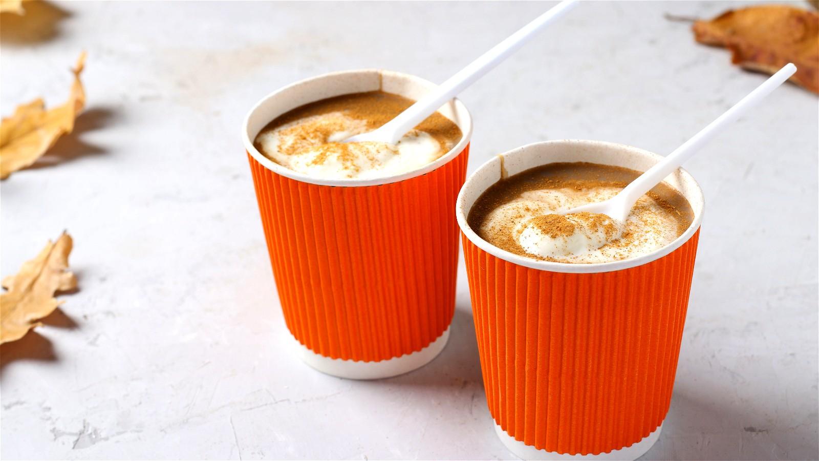 Image of White Chocolate Pumpkin Spice Latte