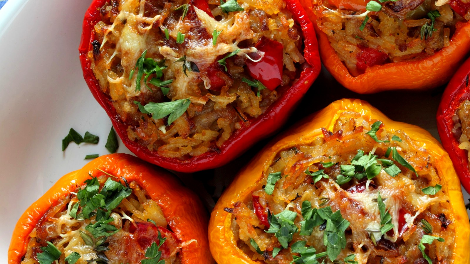 Image of Bison Stuffed Bell Peppers