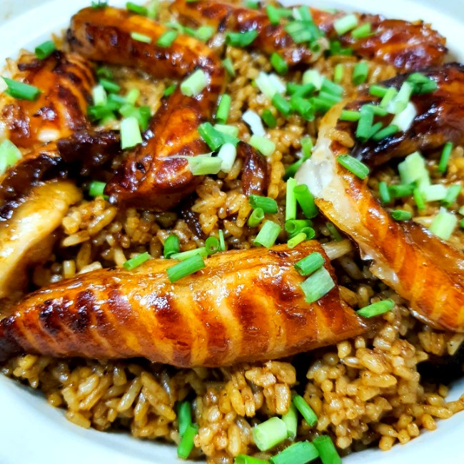 Image of Salmon Belly Rice