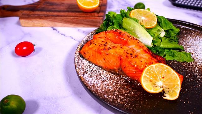 Image of Crispy Salmon in Air fryer