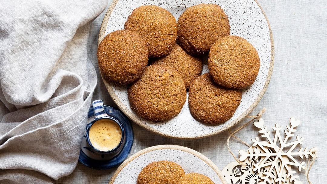 Image of Tahini Halva Cookies