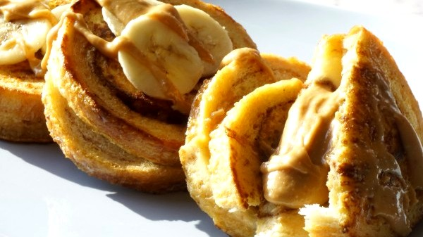 Image of PB-Banana Stuffed Cinnamon French Toast