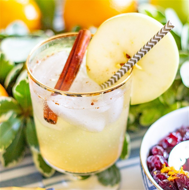 Image of Apple Moscow Mule Mocktail