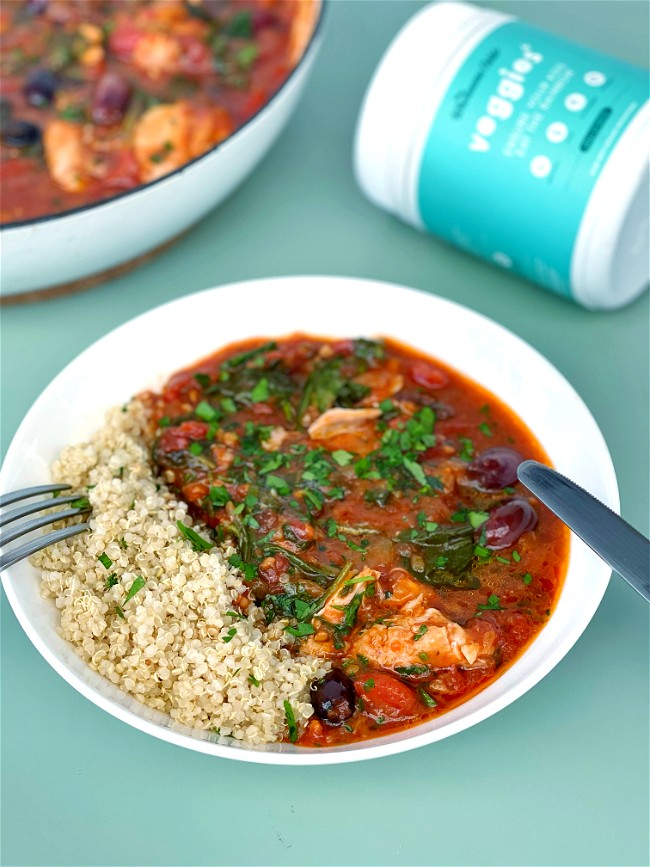 Image of Mediterranean One Pot Chicken Cacciatore