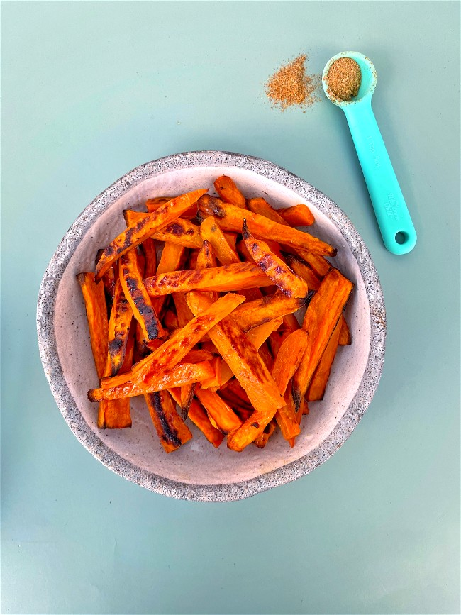 Image of Boosted Sweet Potato Wedges