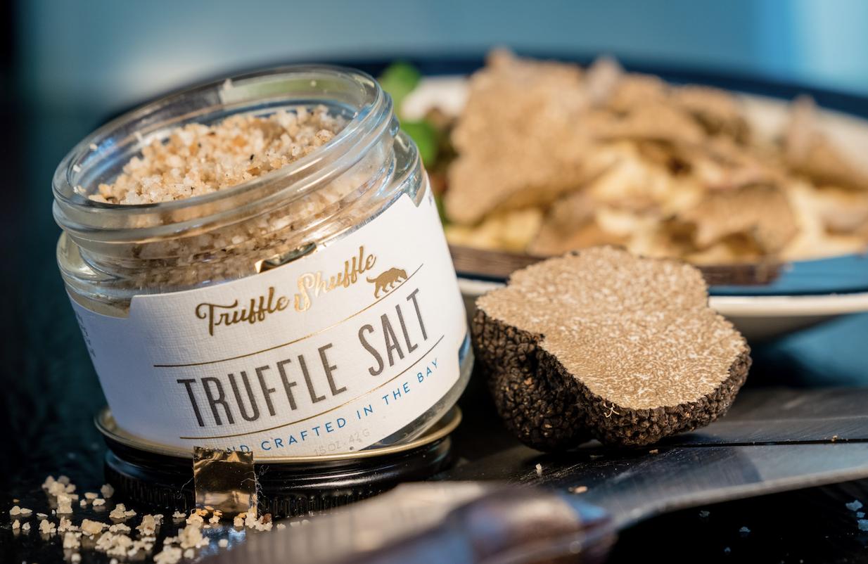 Image of Summer Caprese Salad with Balinese Truffle Salt