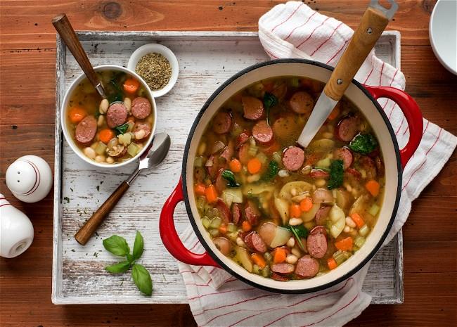Image of Bean Sausage Stew