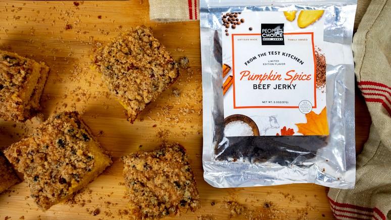 Image of Pumpkin Coffee Cake W/ Pumpkin Spice Beef Jerky Streusel Recipe