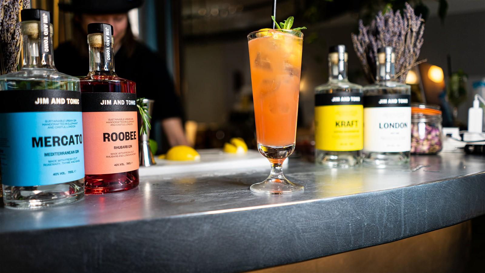 Image of Singapore Fling Gin Cocktail