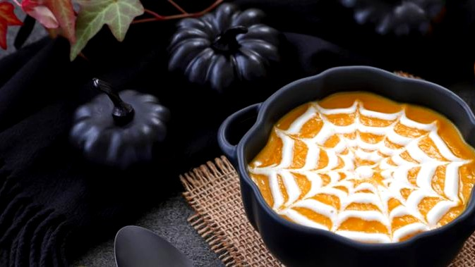 Image of Creamy Plant-Based Pumpkin Soup