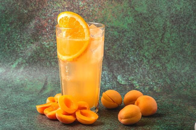 Image of Virgin Apricot Fizz
