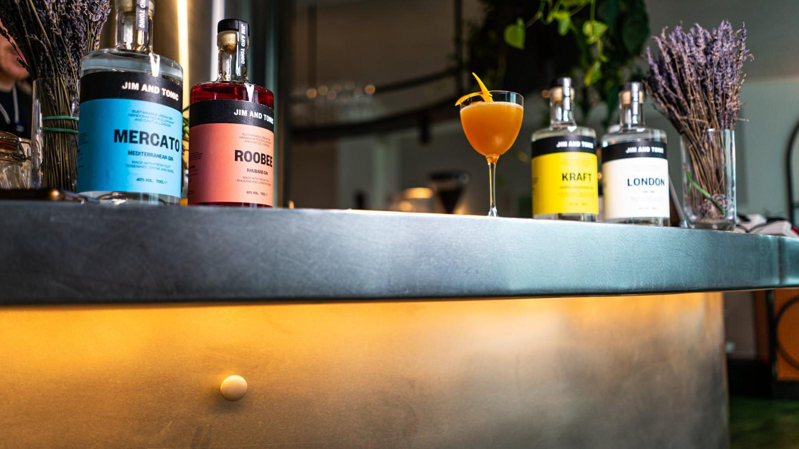 Image of Orange Blossom Gin Cocktail