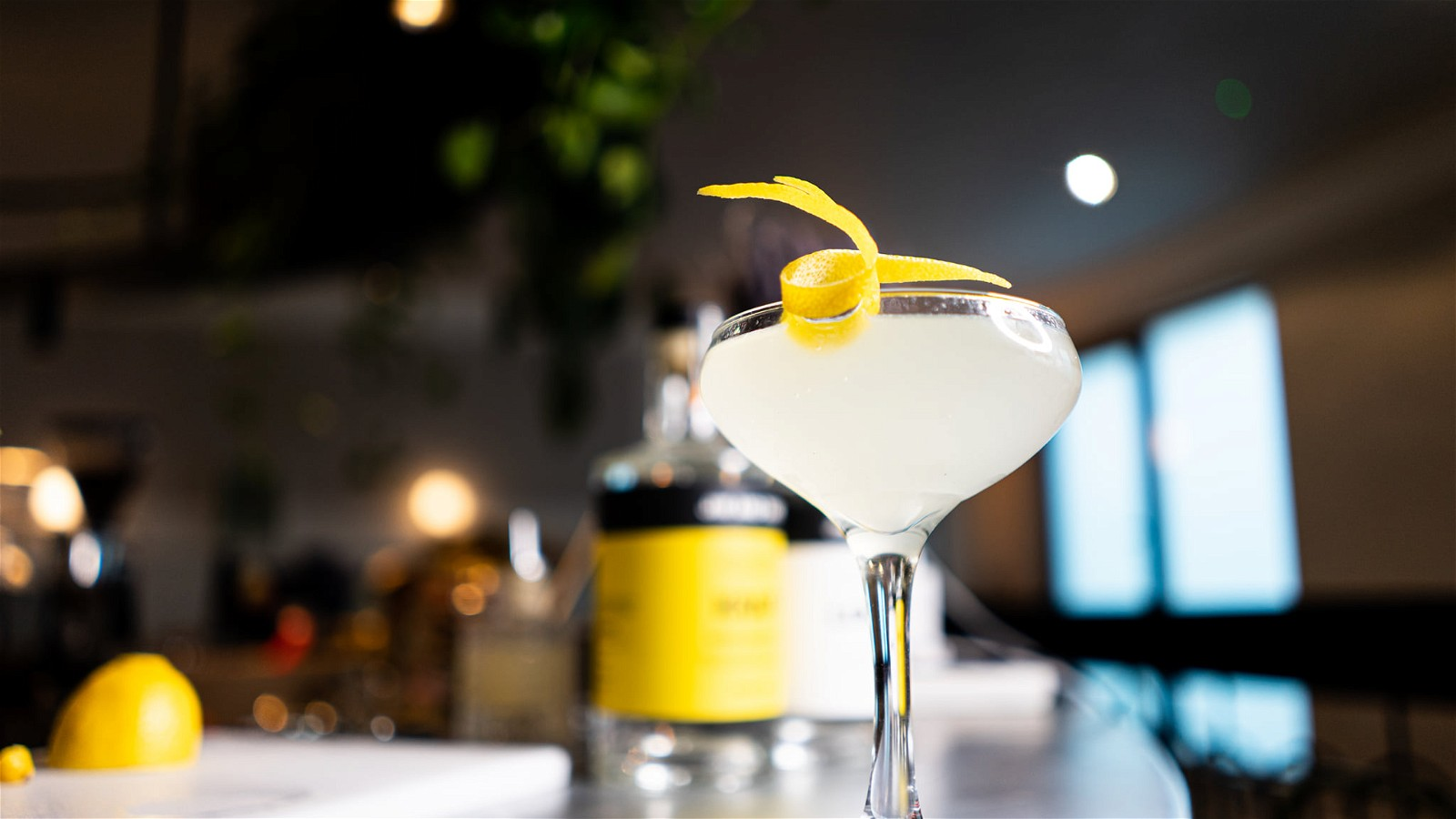 Image of Elderflower Gin Fizz Cocktail